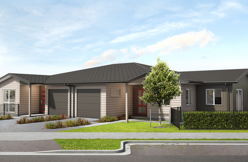 Kauri Landing artists render external view of home
