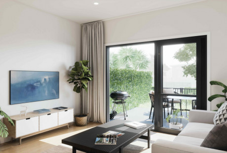 Ormiston Rise artists render of internal living area 2